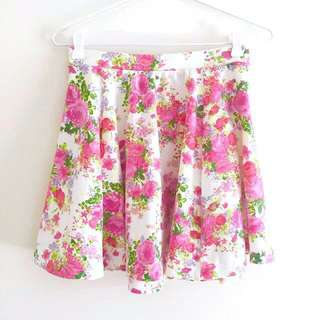Cotton On Floral Skater Skirt
