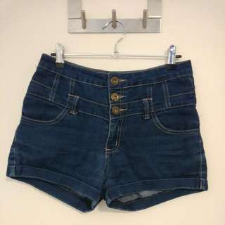 Valleygirl High Waisted Shorts Size 8