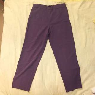 Vintage Purple Wide Leg Pants