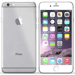 iPhone 6 plus 64GB METALLIC SILVER