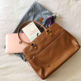 Kikki.k Leather Handbag