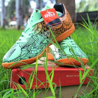 Sepatu Futsal Specs Siprit Orange New.