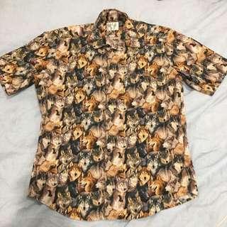 RIPNDIP Large Men's Wolf Shirt