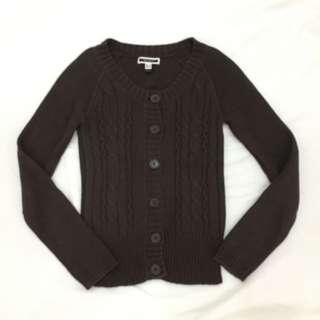 MANGO Heavy Knit Cardigan