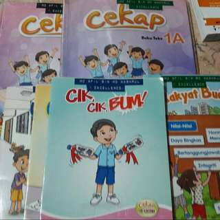 primary 1 malay full set