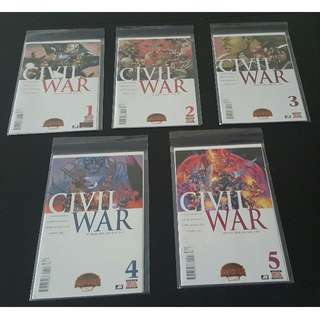 Secret Wars Civil War #1 to #5