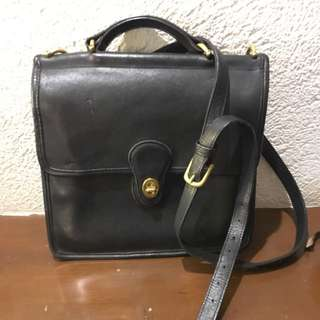 Coach Two Way Leather Bag