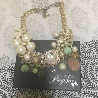 Peep Toe Necklace