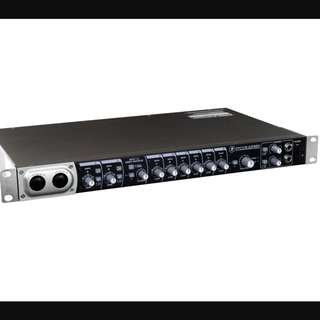 The Onyx Blackbird Premium 16x16 FireWire Recording Interface