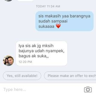 Testimoni Barter Thanks😘