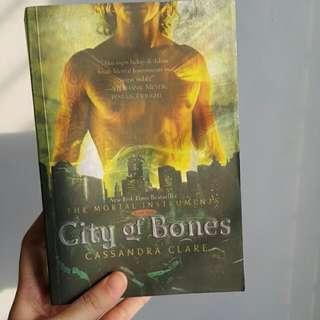 Novel The Mortal Instruments : City Of Bones