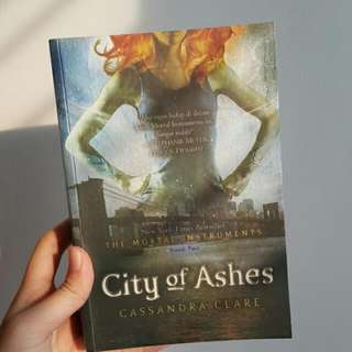 Novel The Mortal Instruments : City Of Ashes