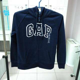 🚚 女生Gap深藍連帽外套