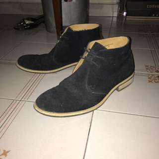 Zalora suede shoes