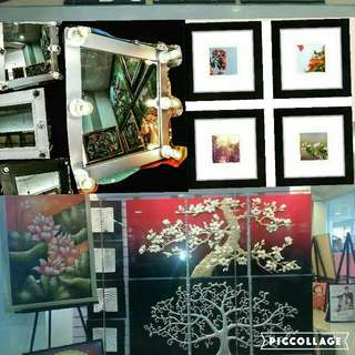 Home Decor Mirror With Lights, 3n1 Wall Decor,Customized Frames PM For Price List