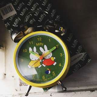 MIFFY ALARM BELL CLOCK