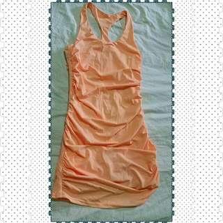 Toby Heart Ginger Racer Back Bodyfit Dress