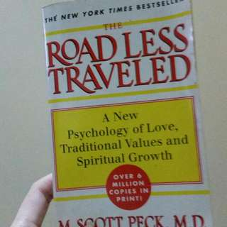 Road Less Traveled By M. Scott Peck