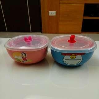 小叮噹陶瓷方碗(2入)