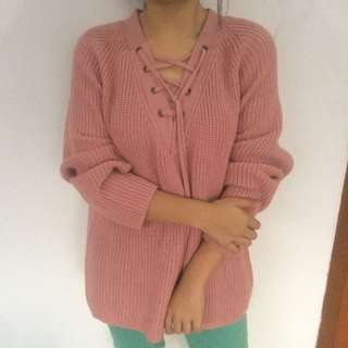 Dust pink Sweater
