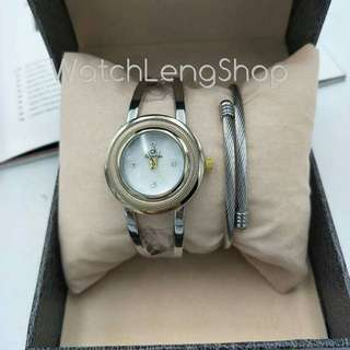 CK Class A Stainless watch with Charriol.stainless