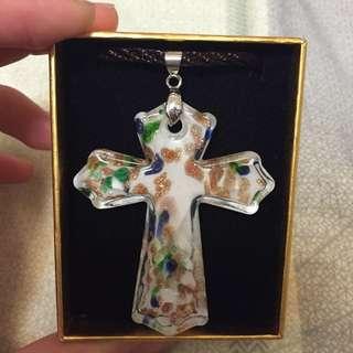 十字架琉璃項鍊