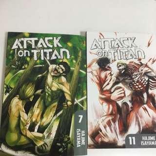 Attack on Titan manga Vol 7
