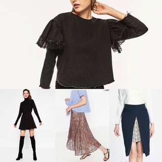 Coming Soon Zara Items From SS & AW 17 From$9