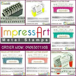 IMPRESS ART REGULAR LETTER STAMP