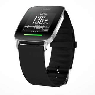 ASUS  Vivo  Watch  9.5成新🙌🙌 原價快5000 特價1600   便宜賣一賣  出貨地臺南東區.高雄三民區 (可郵寄 面交 含運費  沒用過幾次  狀態很好哦 可以測量心肺功能 測量紫外線 有想體驗看看智慧手錶的 趕快帶走吧~