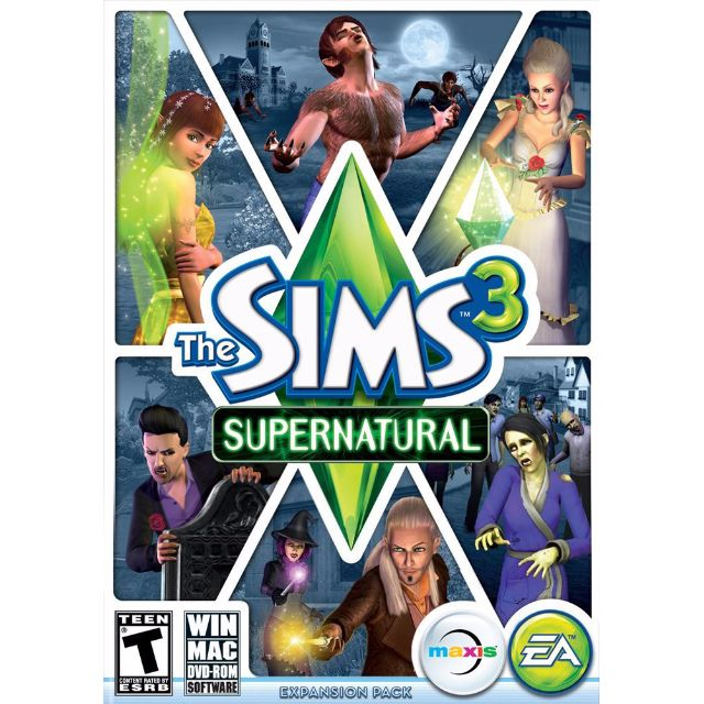 The Sims 3: Supernatural - Origin Game - 43% OFF