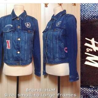 (NEW) H&M Denim Jacket