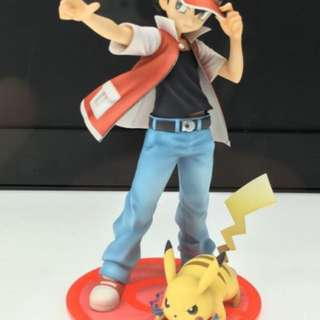 Artfx Red With Pikachu