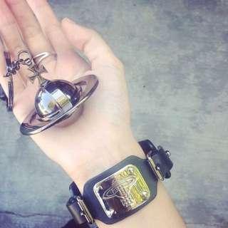 Vivienne Westwood皮手環