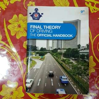 Traffic Police Final Theory Test 9th Edition Book