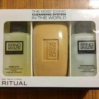 Erno Laszlo Cleansing Ritual Trio (Dry / Combination Skin Type)