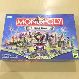 Monopoly: Here And Now Edition, America Has Voted