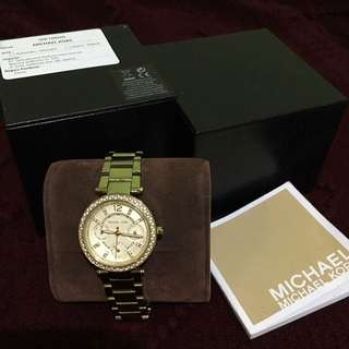 Michael Kors Gold Watches