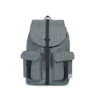 Preloved - Herschel - Dawson Classic Backpack - Raven Crosshatch