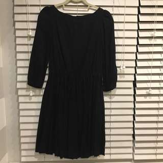 RESERVED: MANGO black dress