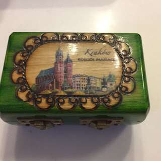 Beautiful Hand Crafted Jewellery Box From Poland