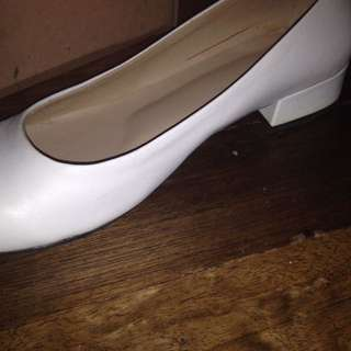 2 Inches White Heels