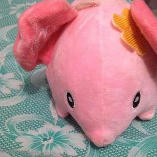 Pink Stufftoy