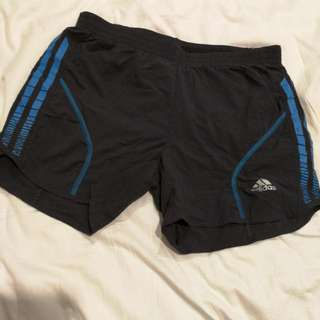 Ladies Adidas Running Sports Shorts XS