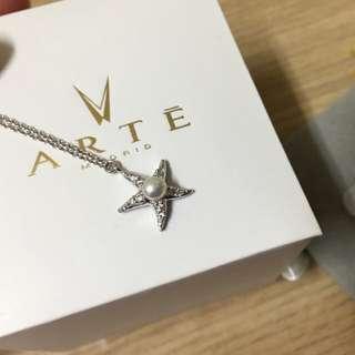 全新✨正品 ARTE 海星純銀手鍊