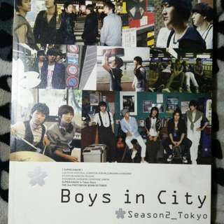 Super Junior Photobook : Boys In City Season 2_Tokyo