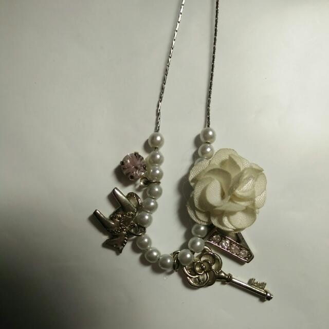 玫瑰珍珠項鍊