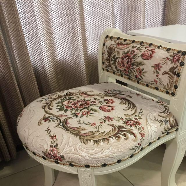 古典風化妝椅休閒椅