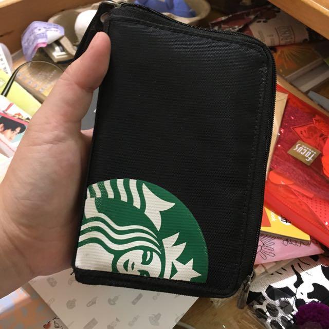 星巴克 iphone手機手納包/手拿包
