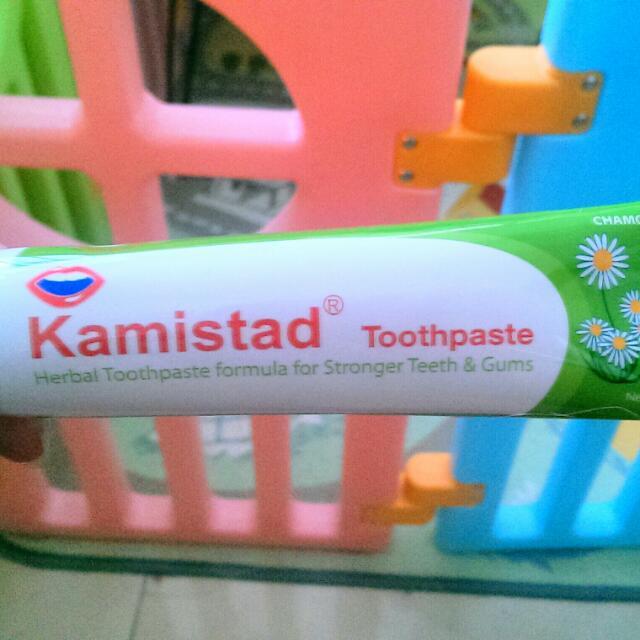 ❇徵❇ kamistad 美口潔草本牙膏100g